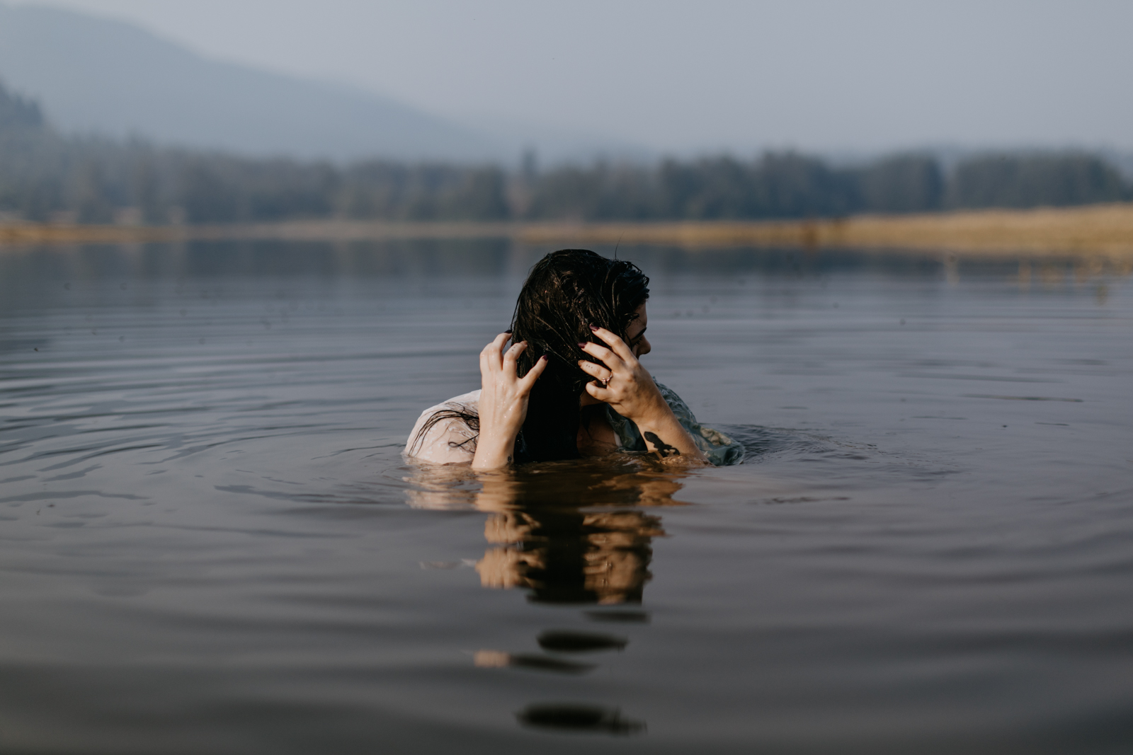 Alder Lake, Washington Boudoir