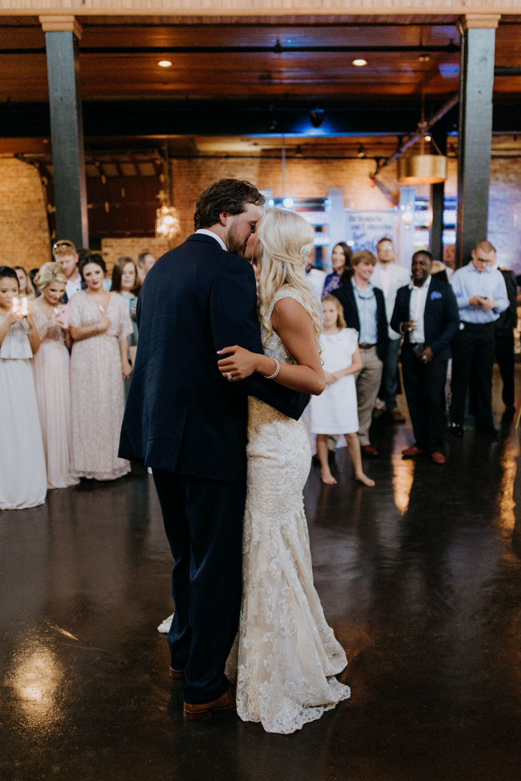 Bottling Company Downtown Hattiesburg, Mississippi Wedding
