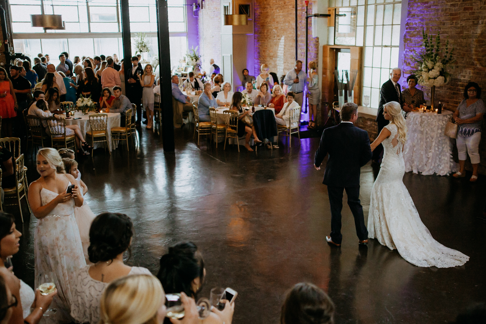 Bottling Company in Downtown, Hattiesburg Wedding