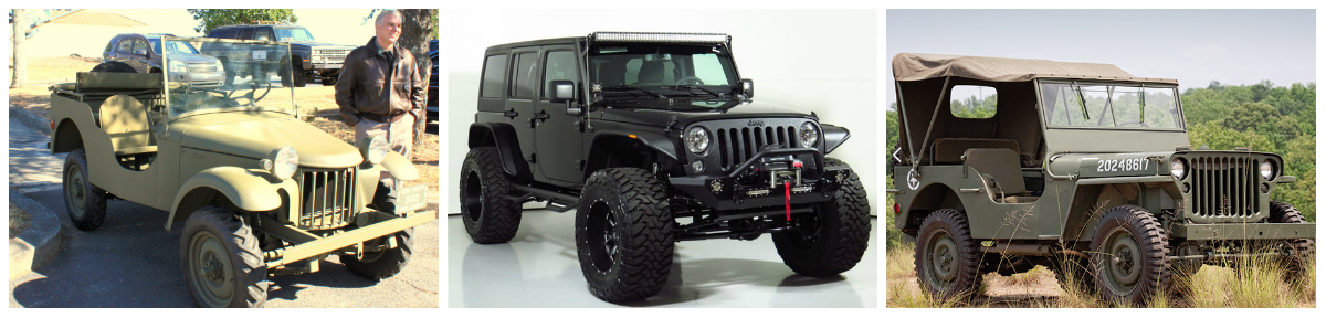 All 3 of these Jeeps will be randomly given away as perks for our top donors.