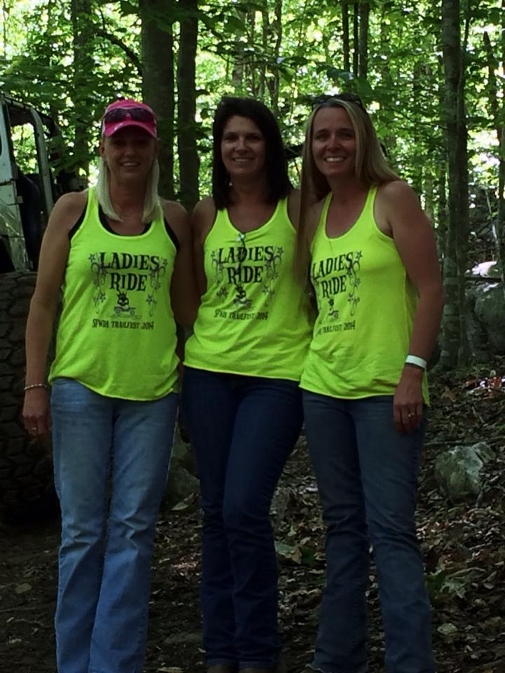 2014 Ladies Only Ride Participants