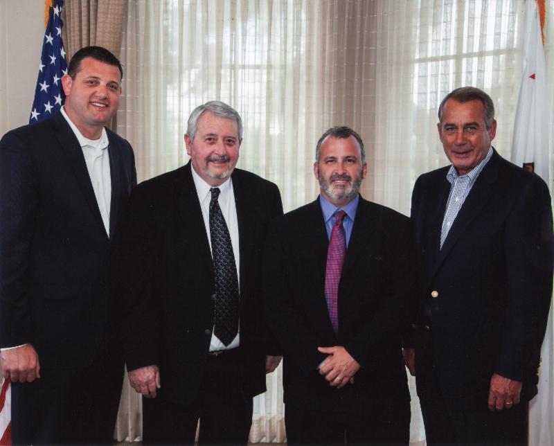 Off Road Business Association BOD Chairman, Greg Adler president/CEO of Transamerica Auto Parts, and Fred Wiley, President/CEO of the Off-Road Business Association