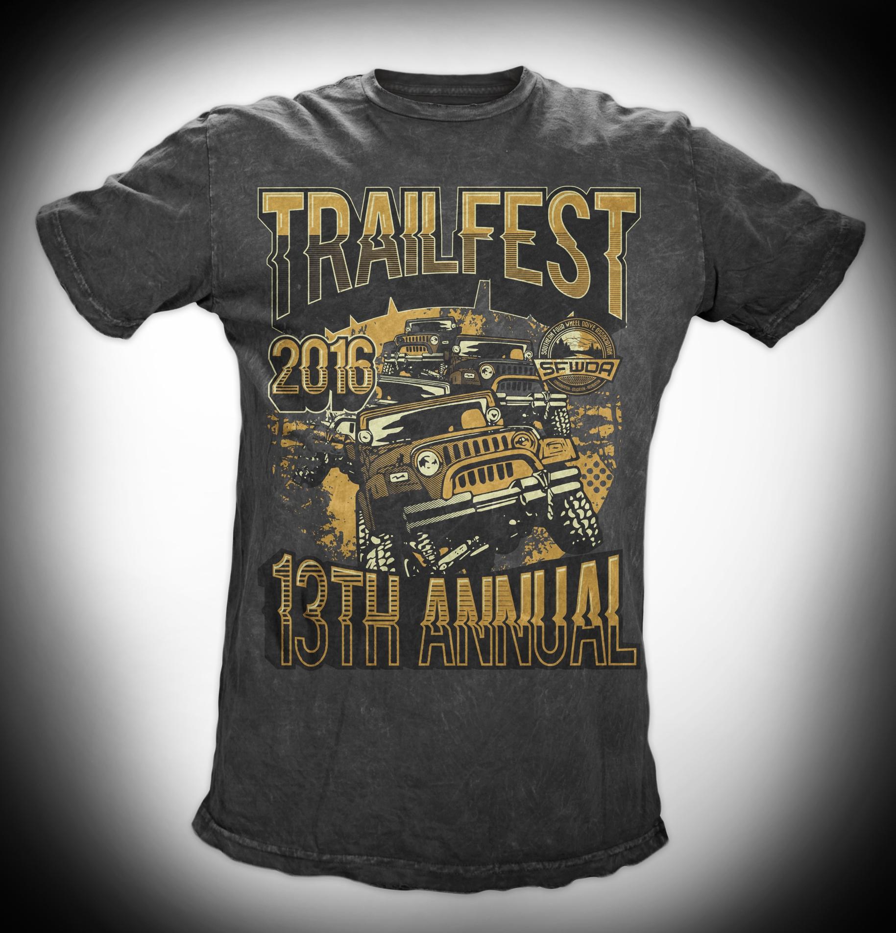 All new Trailfest 2016 Shirt Design