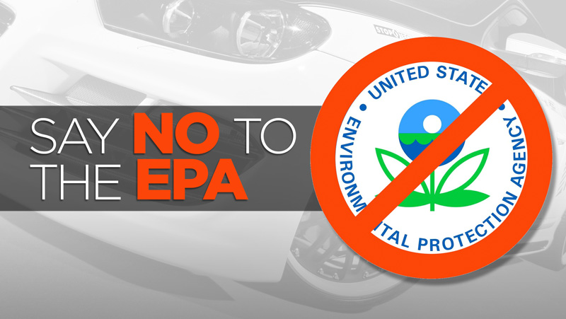 Say no to EPA