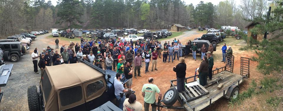 224 volunteers came together as one 4WD family to complete projects on our Uwharrie OHV trail system