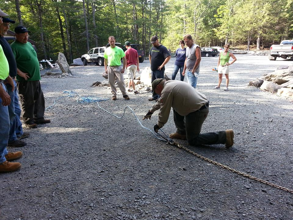 Introduction to, and Advanced Winching Techniques courses available on Saturday at Trailfest.