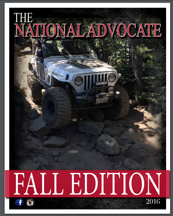 National Advocate Fall Edition 2016
