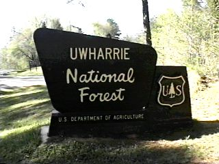 Uwharrie is one of the few remaining public trail systems in the eastern US.