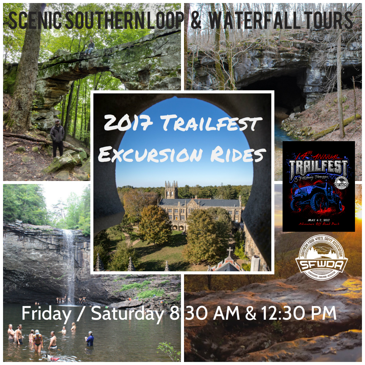 Guided Excursion Rides are included with admission to the event.
