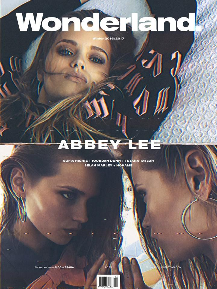 Abbey Lee for Wonderland