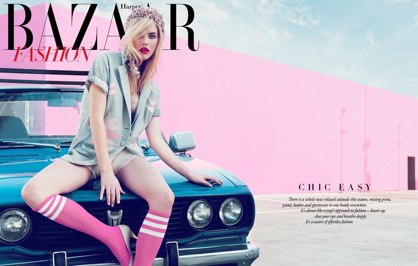 Ashley Smith for Harper's Bazaar