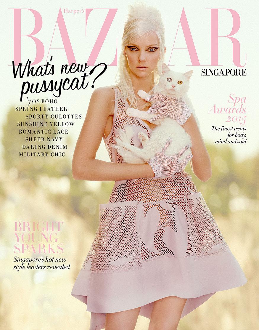 Heather Marks for Harper's Bazaar