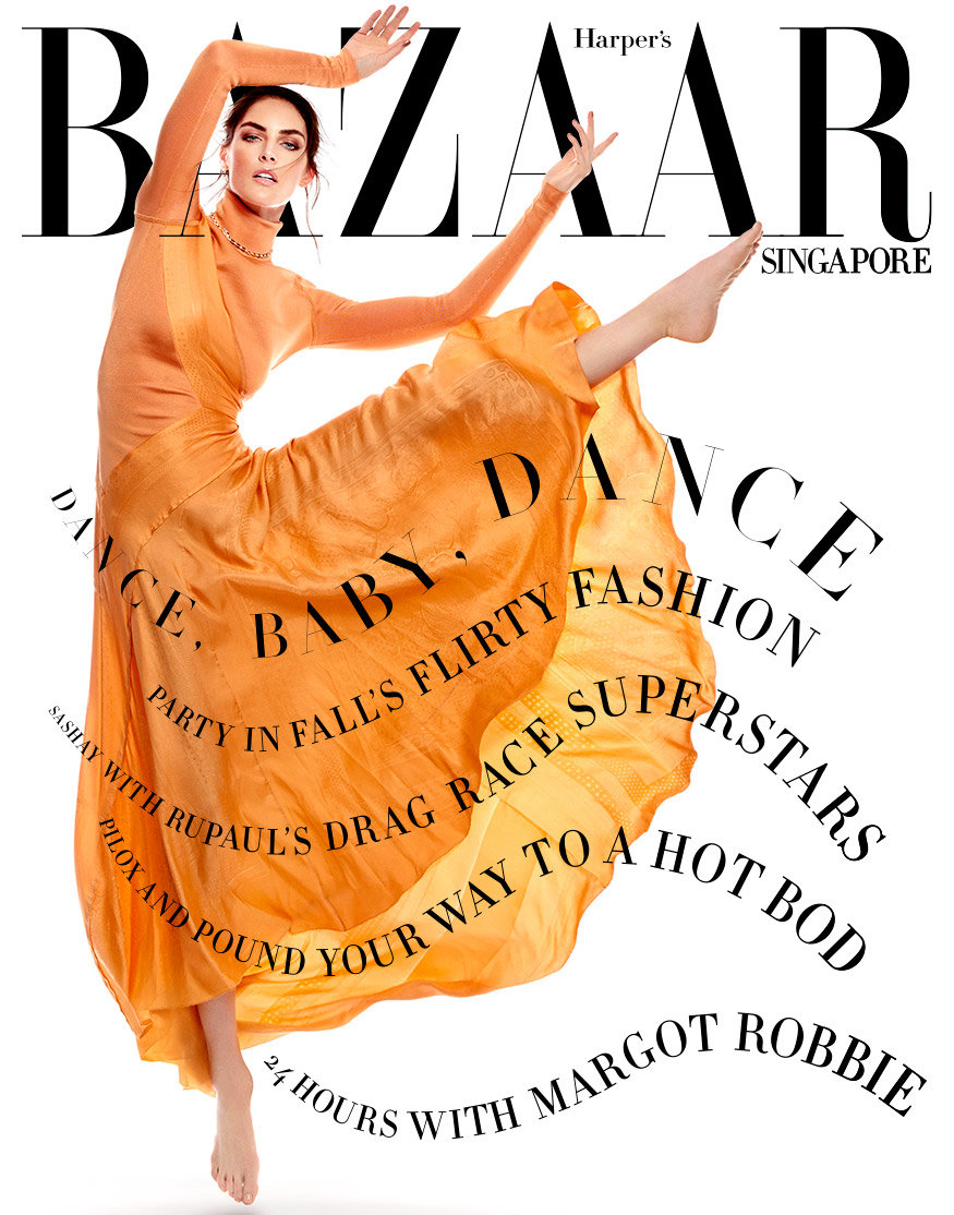 Hilary Rhoda for Harper's Bazaar