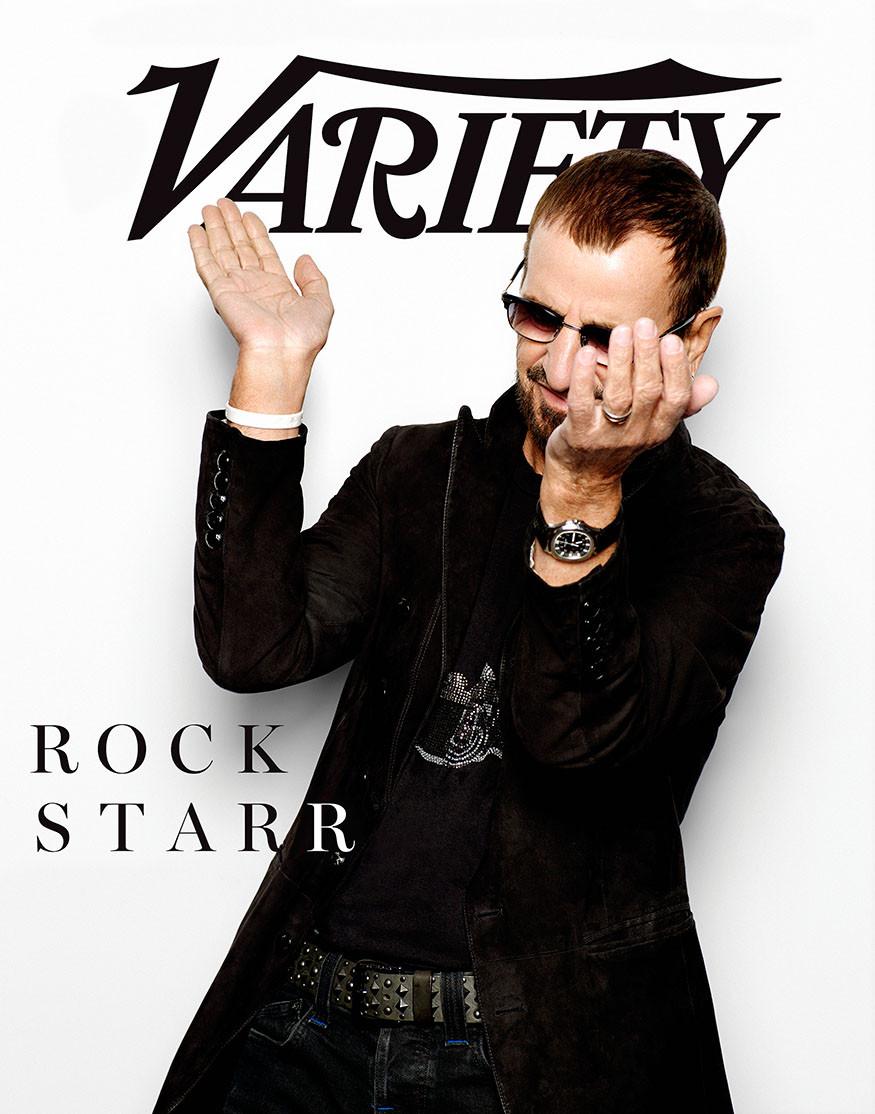 Ringo Starr for Variety