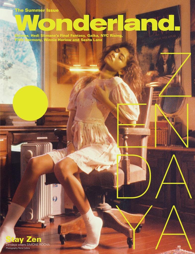Zendaya for Wonderland