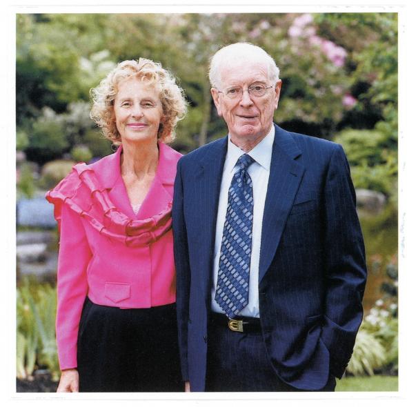 Marjorie-Anne and Bill Sauder