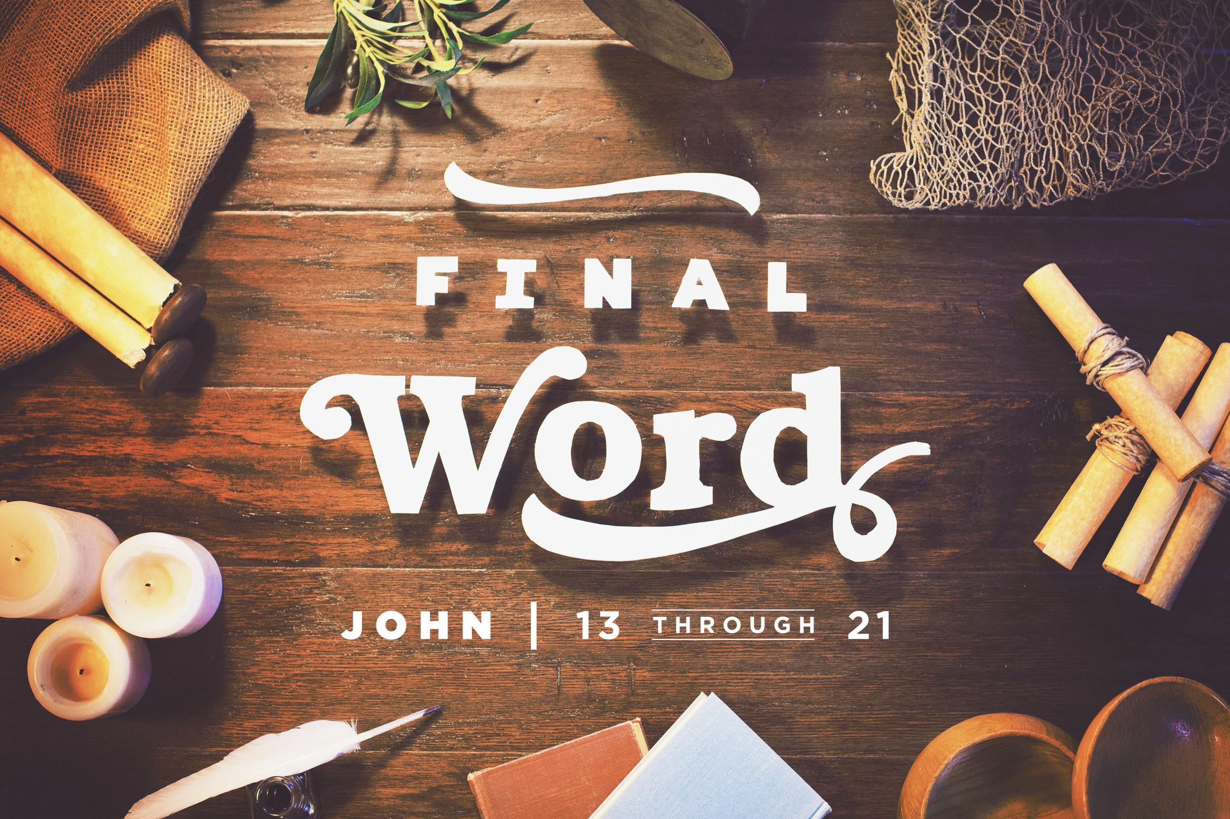 Southeast Christian Church: Final Word | Shane Harris - Melbourne Florida Graphic Design