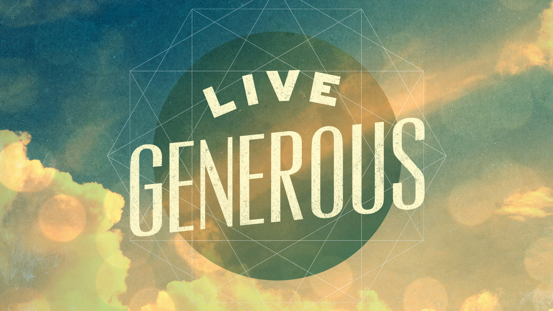 Ministry Pass: Live Generous | Shane Harris