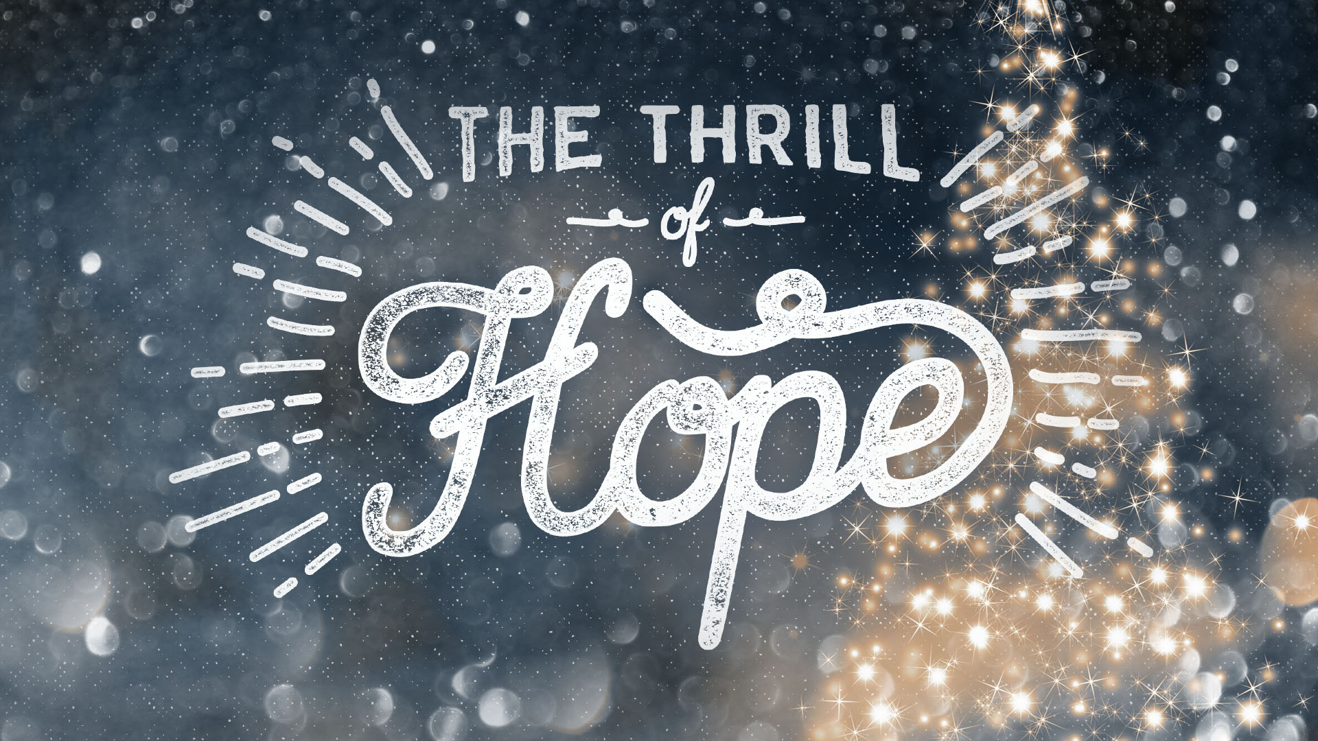 Ministry Pass: The Thrill of Hope | Shane Harris