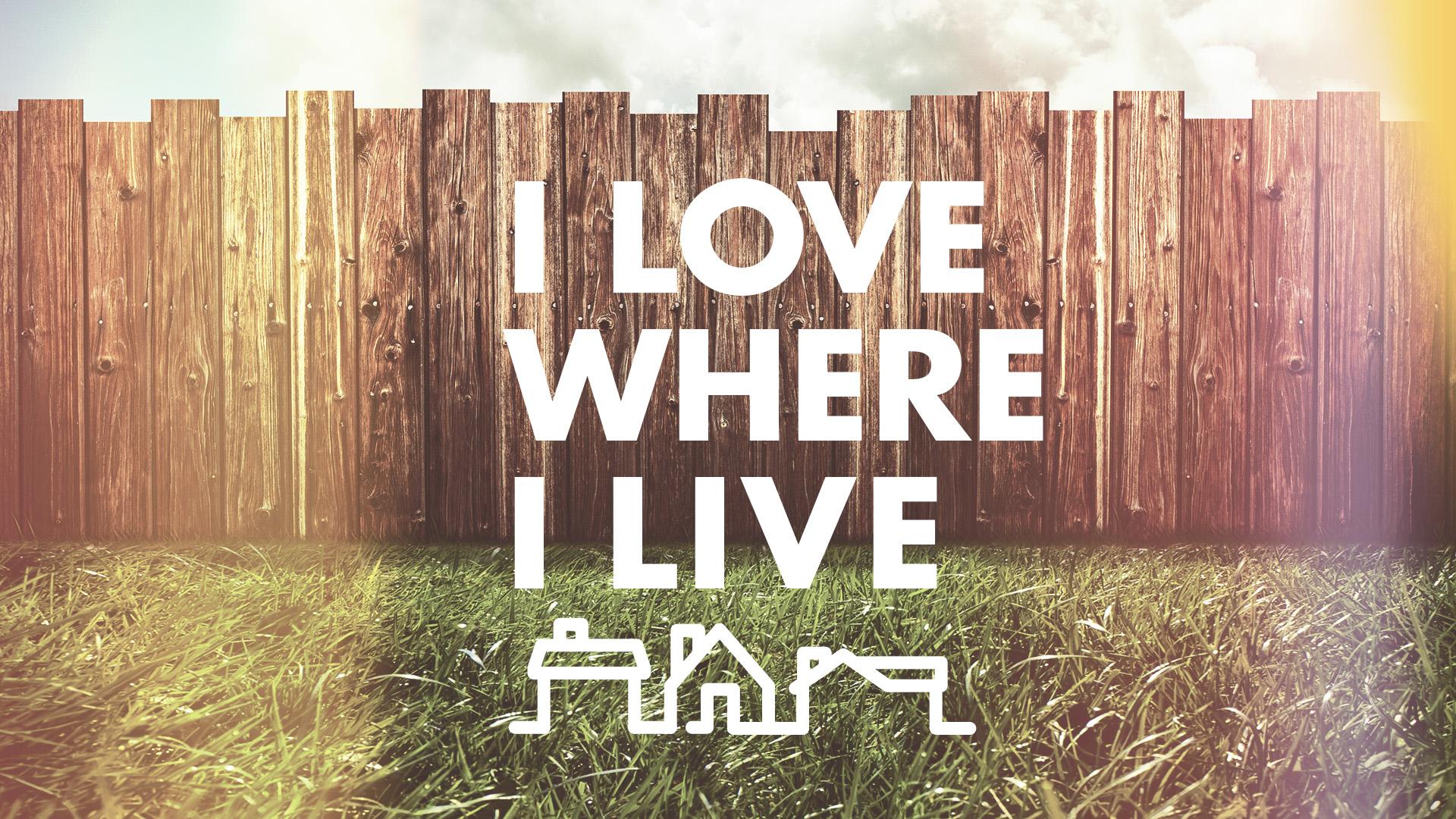 Southeast Christian Church: Love Where We Live | Shane Harris - Melbourne Florida Graphic Design