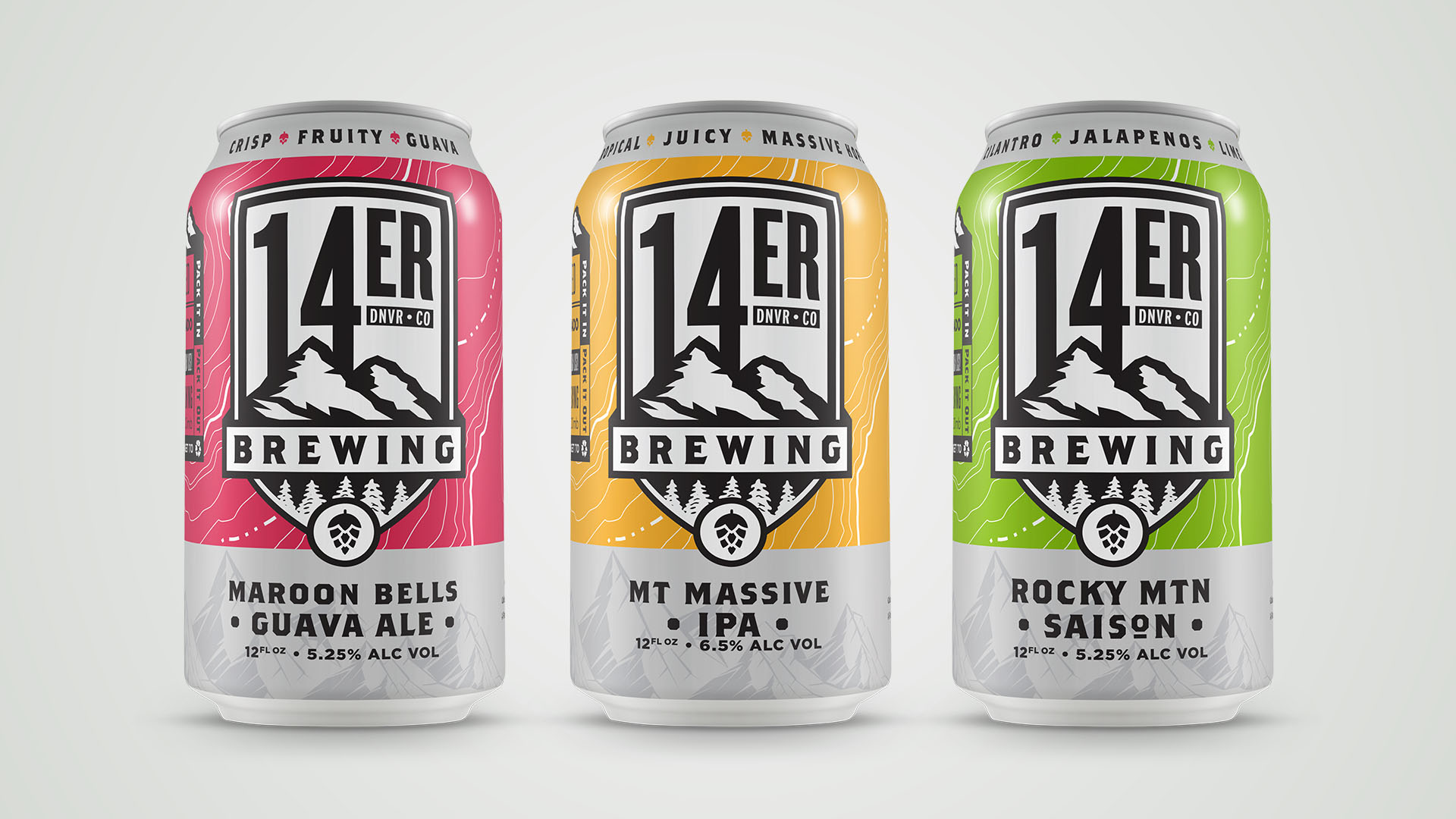 14er Brewing Co - Core Cans | Shane Harris