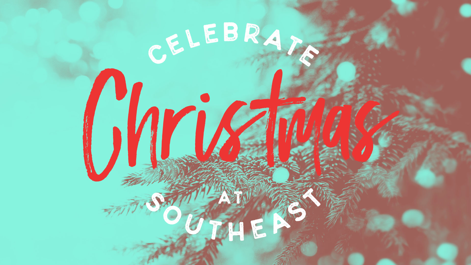 Christmas at Southeast | Shane Harris Graphic Design - Melbourne Florida Graphic Design