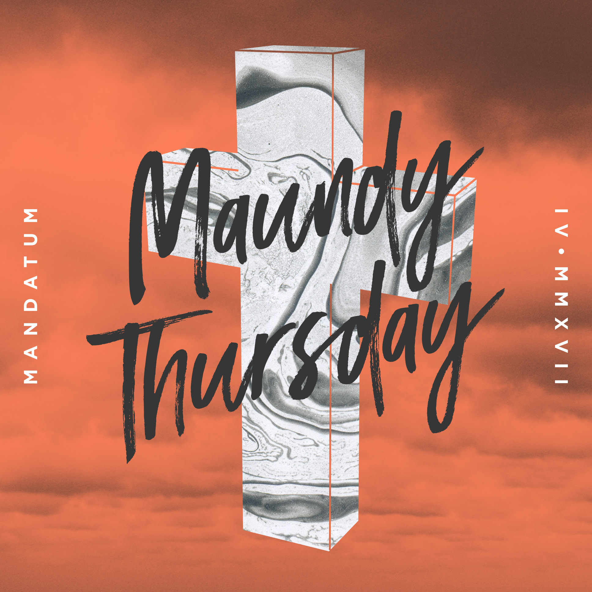 Maundy Thursday Design | Shane Harris Graphic Design