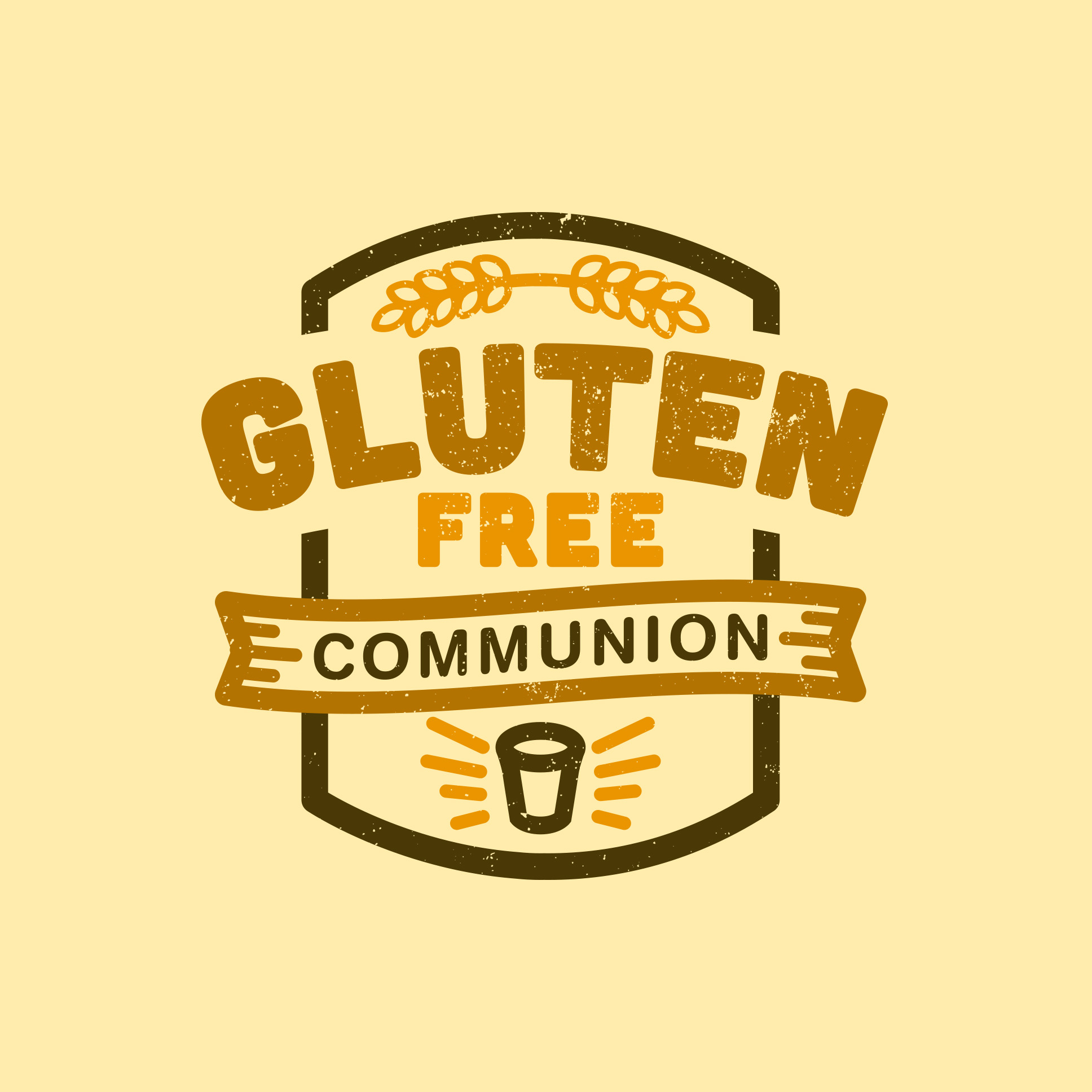 Gluten Free Communion | Shane Harris Graphic Design