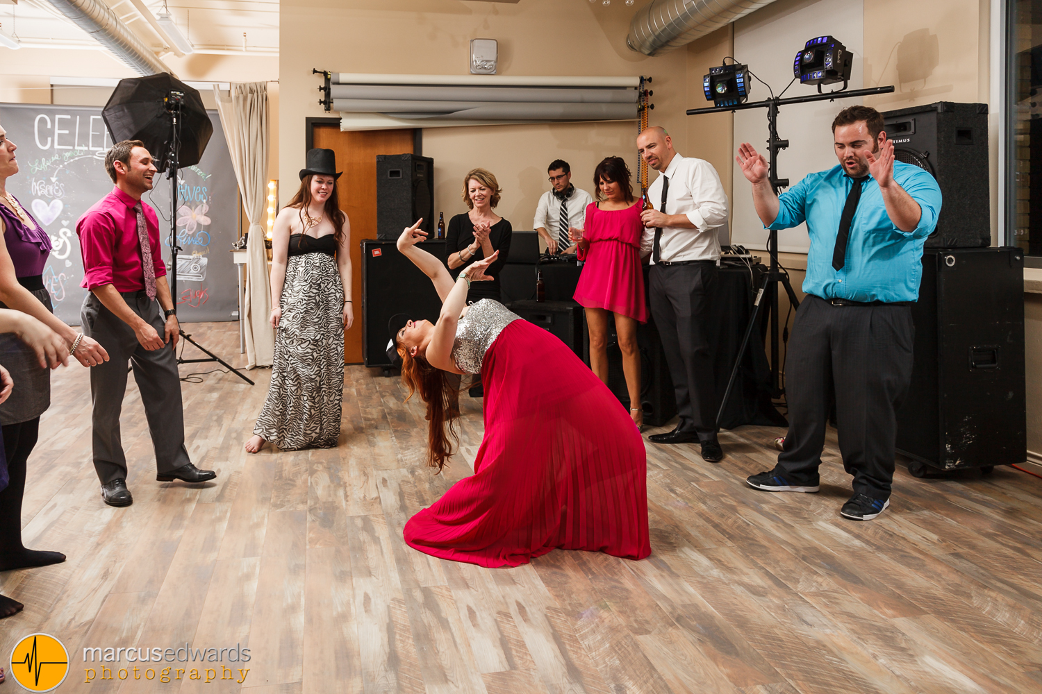 My wife Janie ripping it up on the dance floor