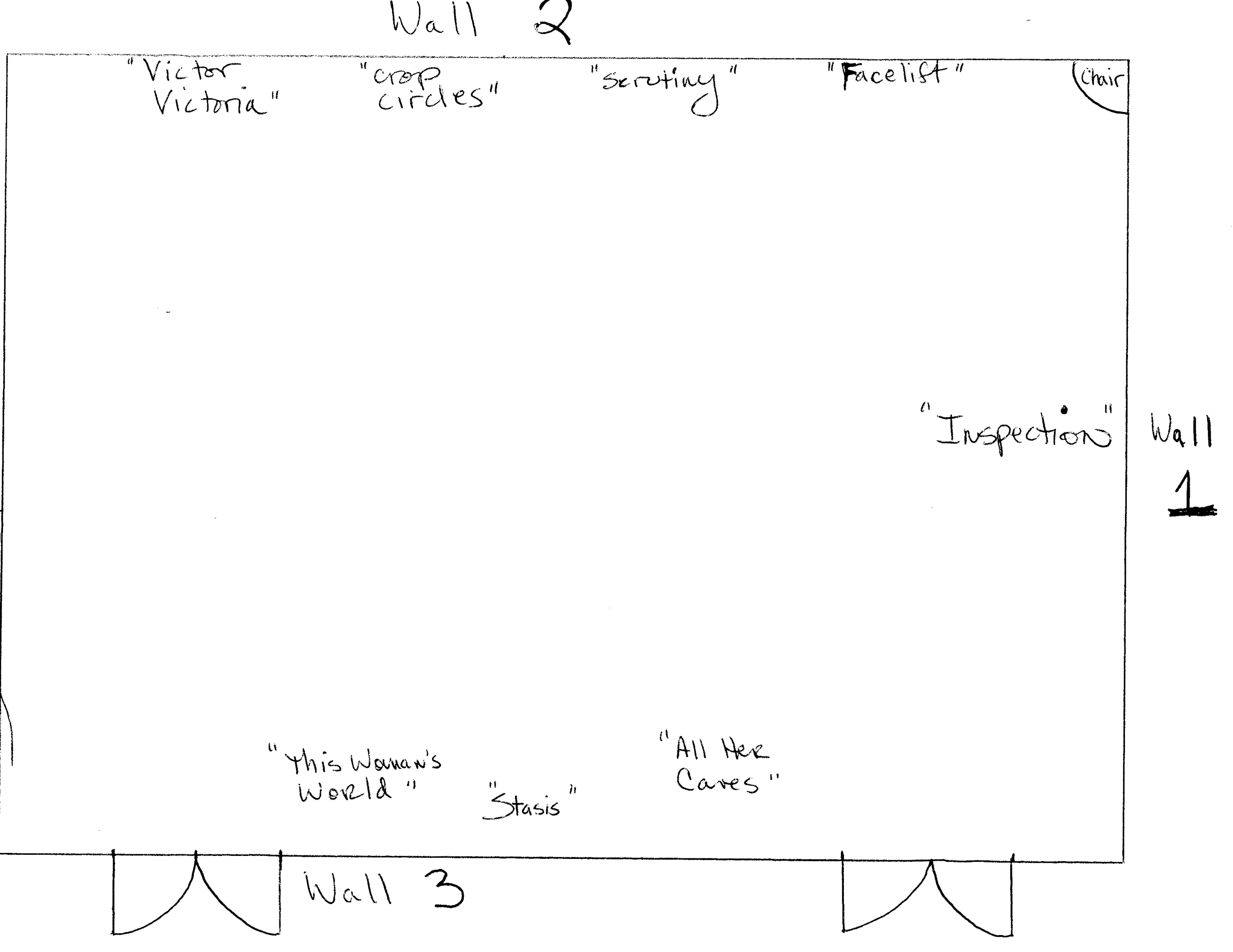 Handwritten layouts for modest budgets