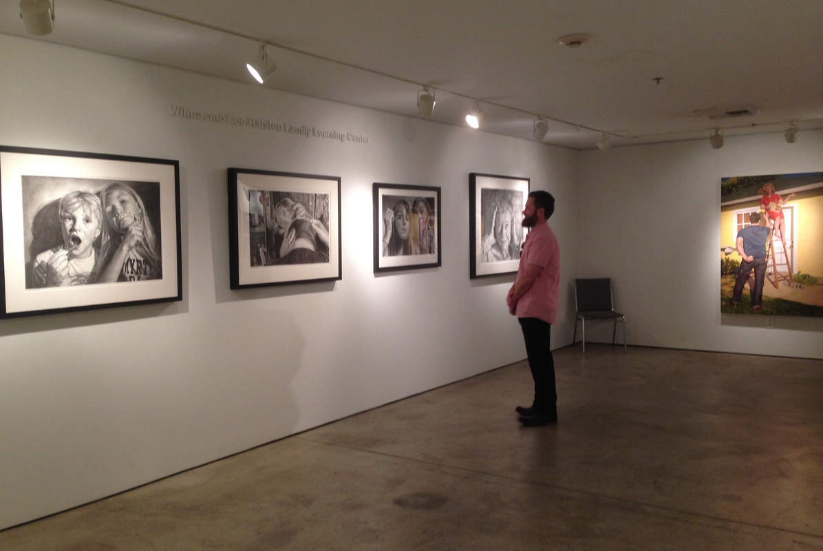 Exhibition image - Wall B and A