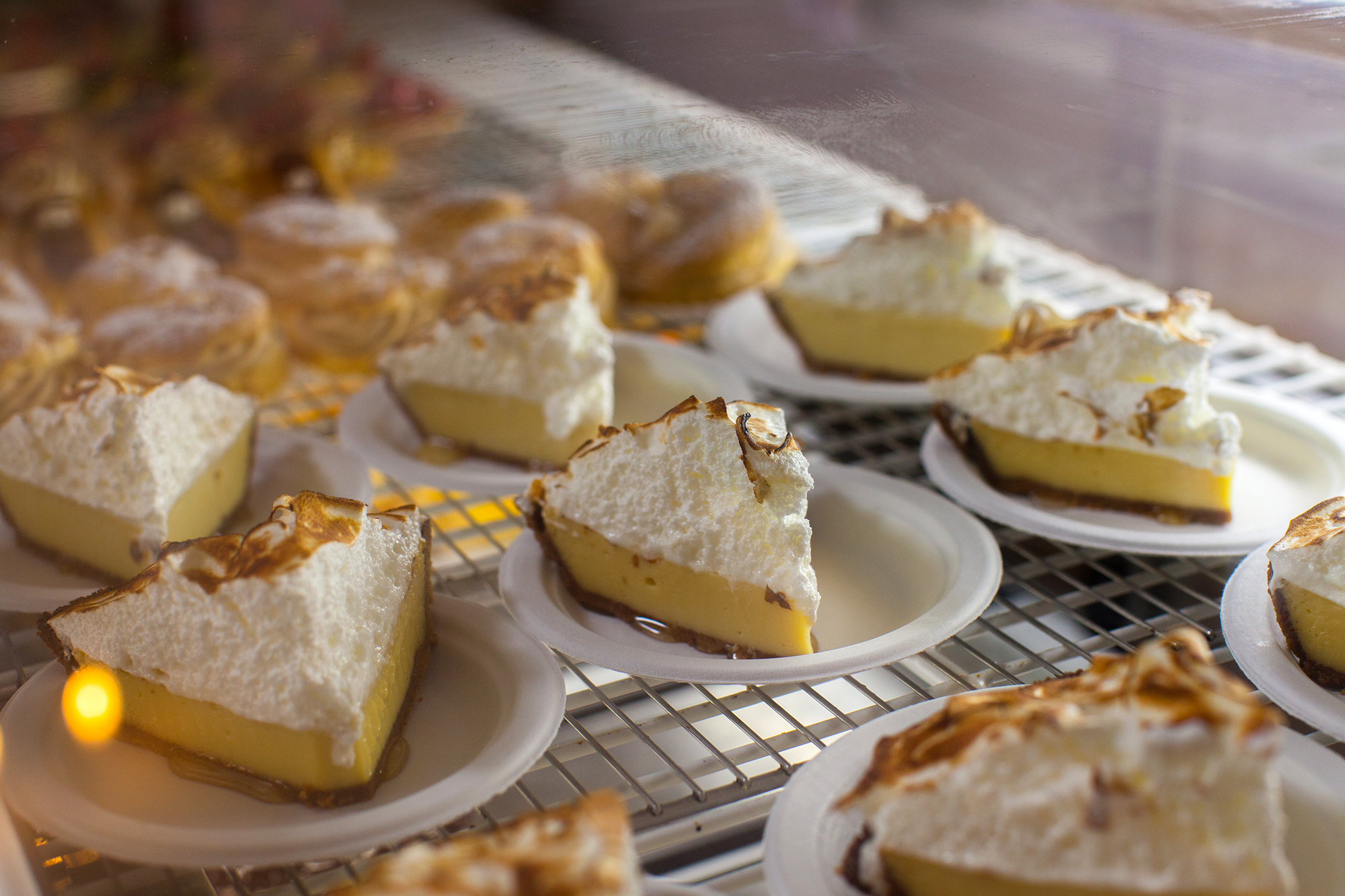 Key Lime Pie for days. Need I say more?