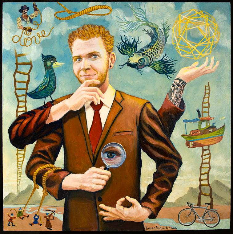 Portrait of Jeremy Bang