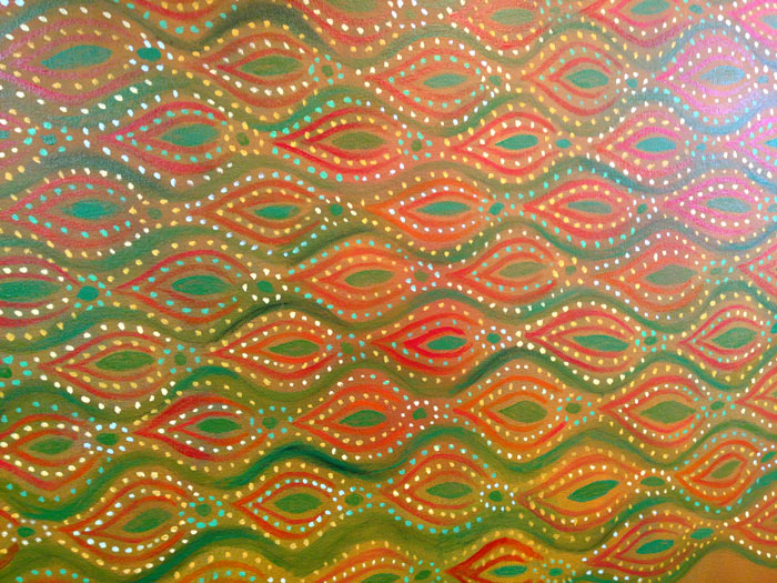 Unfinished Painting, Pattern Detail