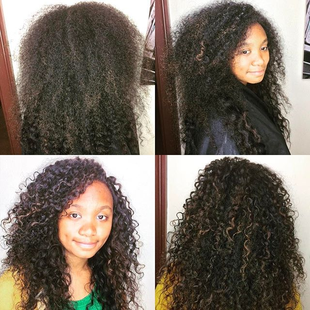 Another beautiful curl transformation 😍 #newbeginnings