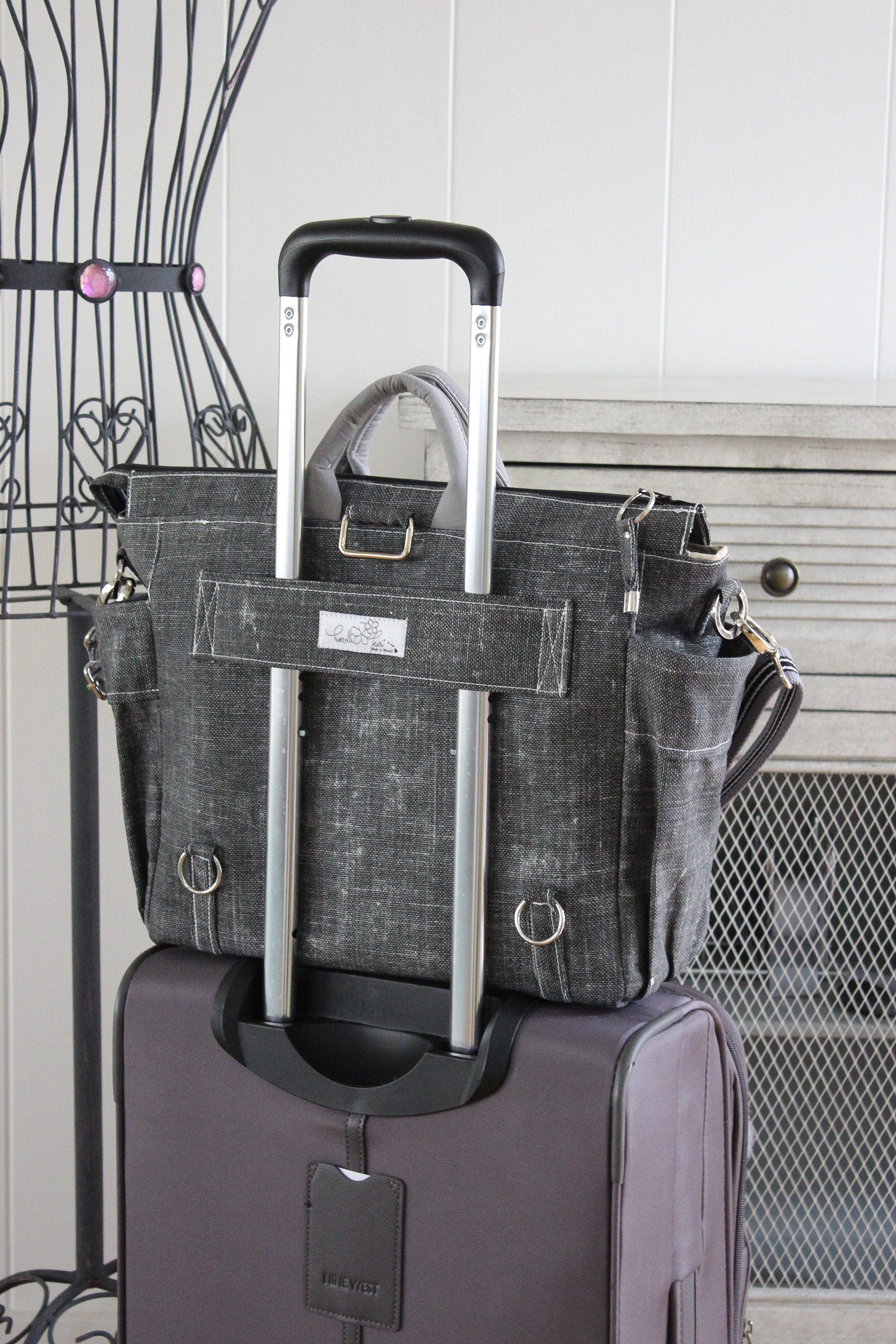 Satchels - with luggage secure tab