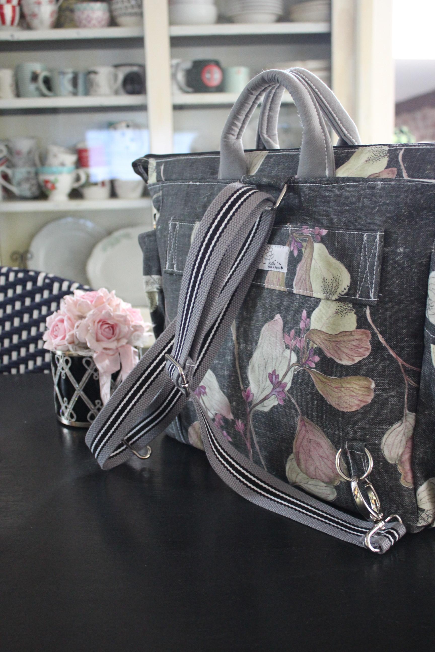 Backpacks - satchel/travel bag/luggage secure tab
