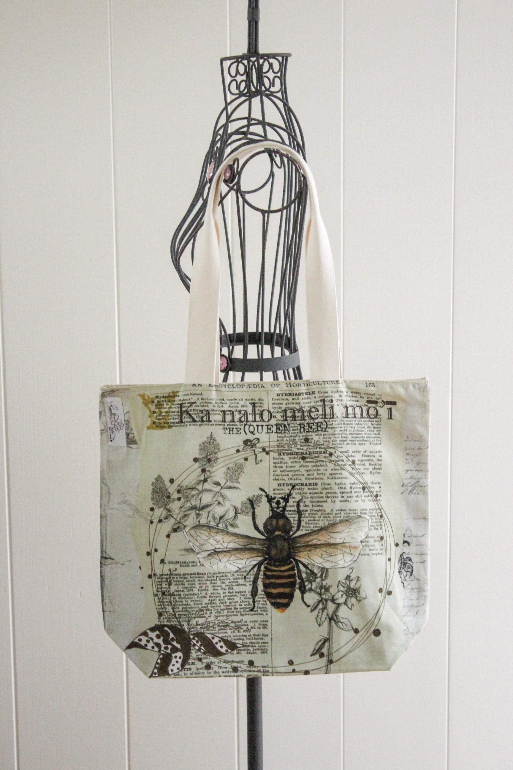 Queen Bee reversible tote $27