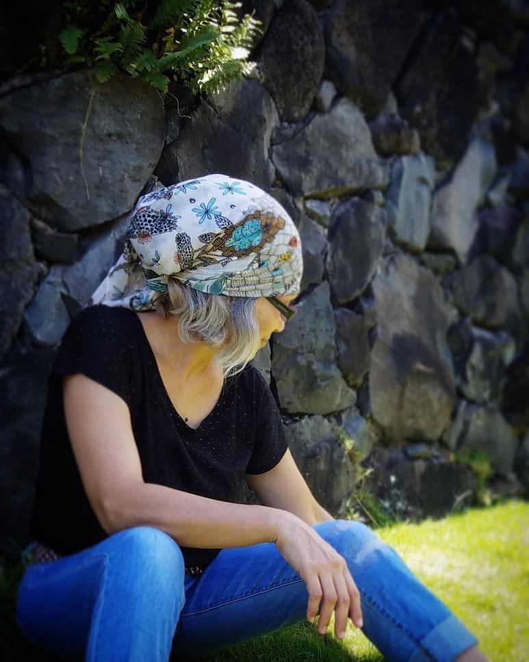 Use as headscarf Aloha Days