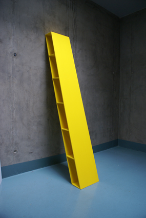 Inclined Sumas shelving system