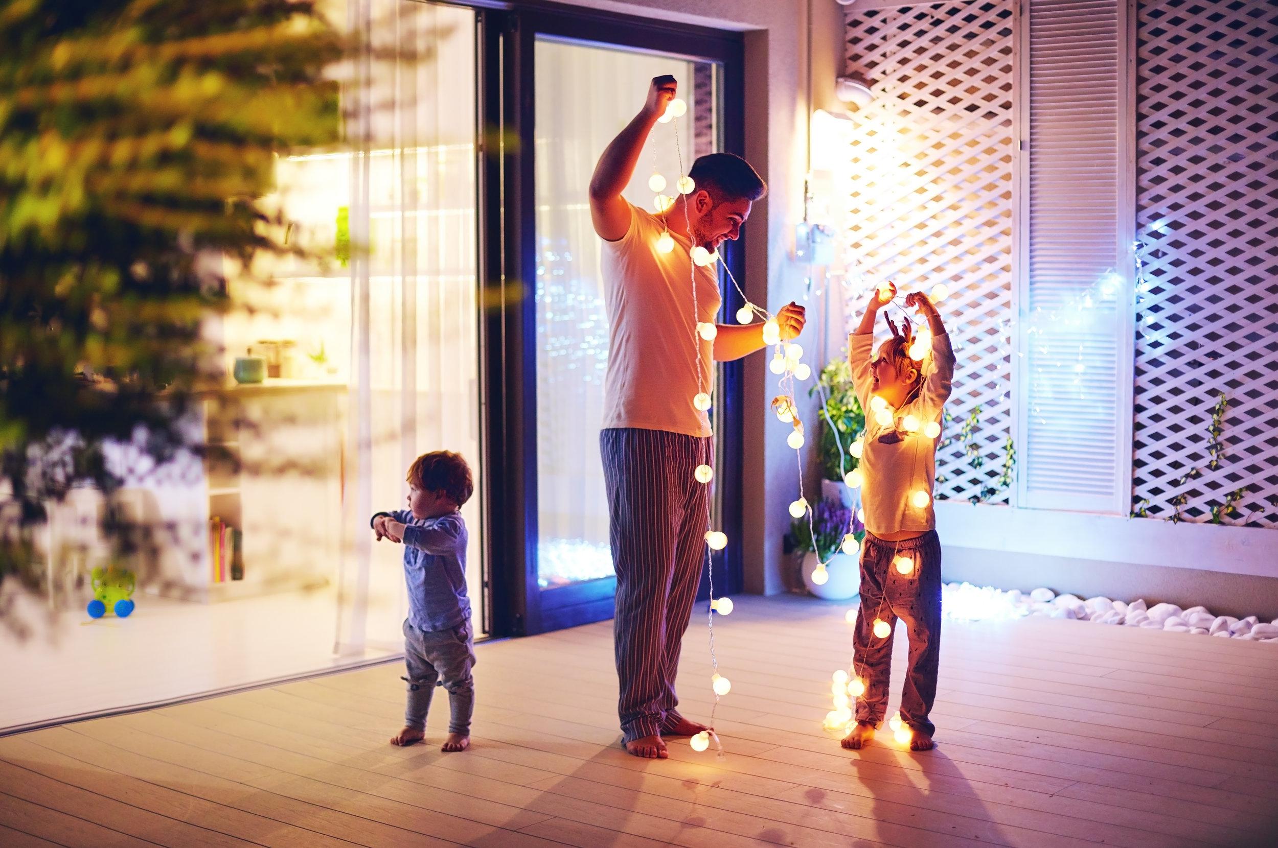 Weihnachten & Silvester - mit Trennungskindern