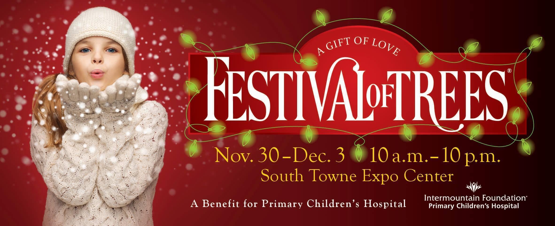 Visit www.festivaloftreesutah.org for more info!