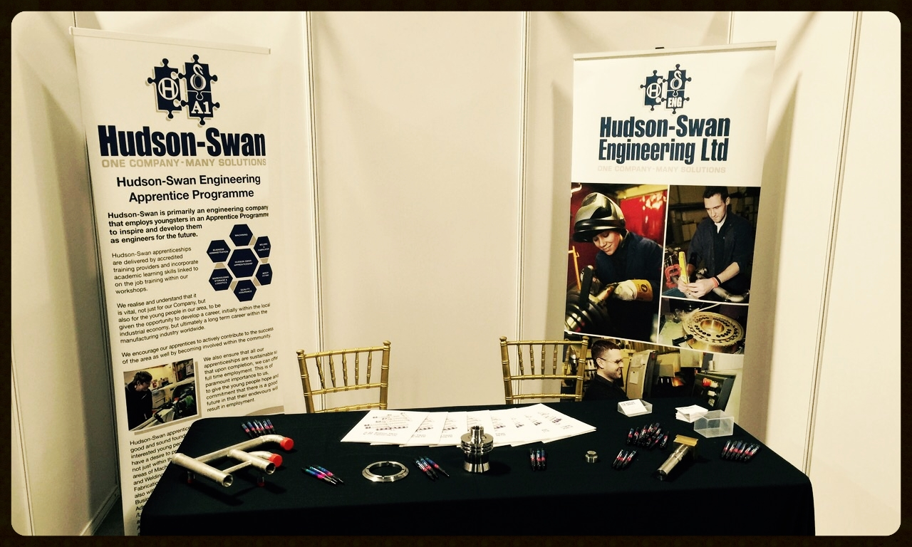 hudson-swan's stand at the nda supply chain event