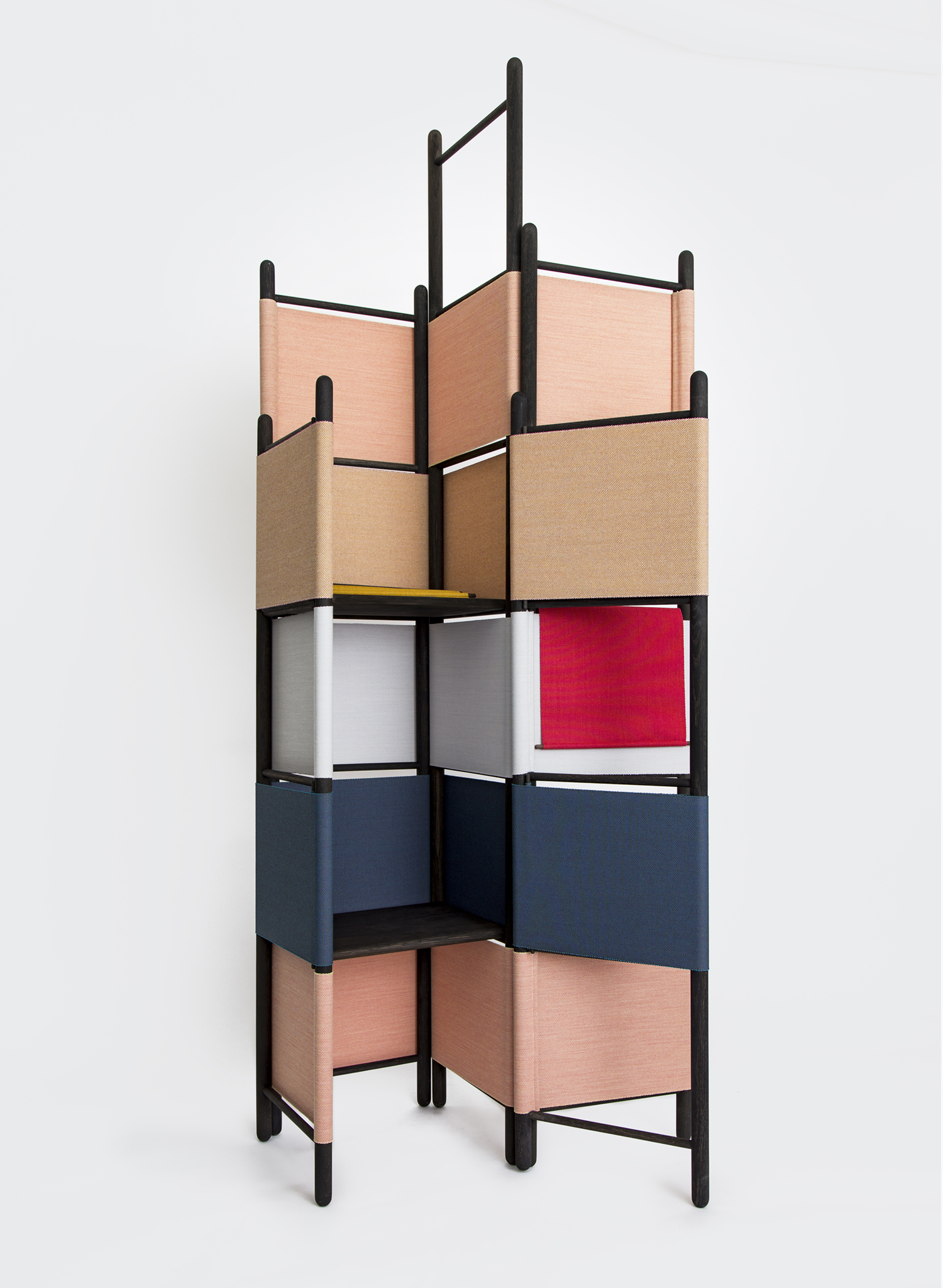 A special 'De Stijl' edition of Loom Bound by Rive Roshan, specially made for the Aram Gallery in Covent Garden, London. An homage to Gerrit Rietveld and Theo van Doesburg.