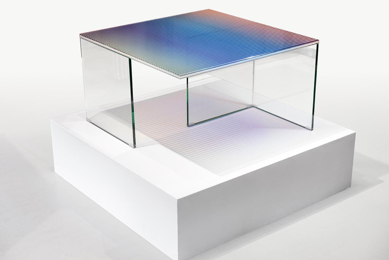 Trichroic Table Rive Roshan Tools Galerie Paris