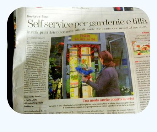 Automatique on La Stampa - Torino, talking about one of our clients in the city.