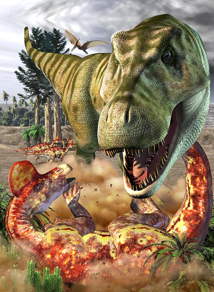 TRexandCorythrosaurus.png