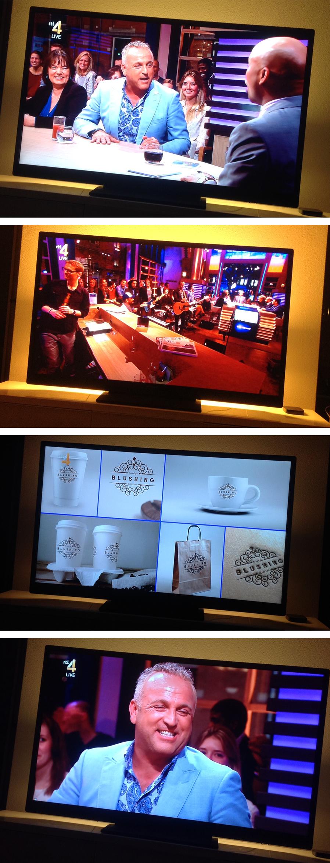 BLUSHING on 'RTL Late Night'_Logo-by-Beltgens