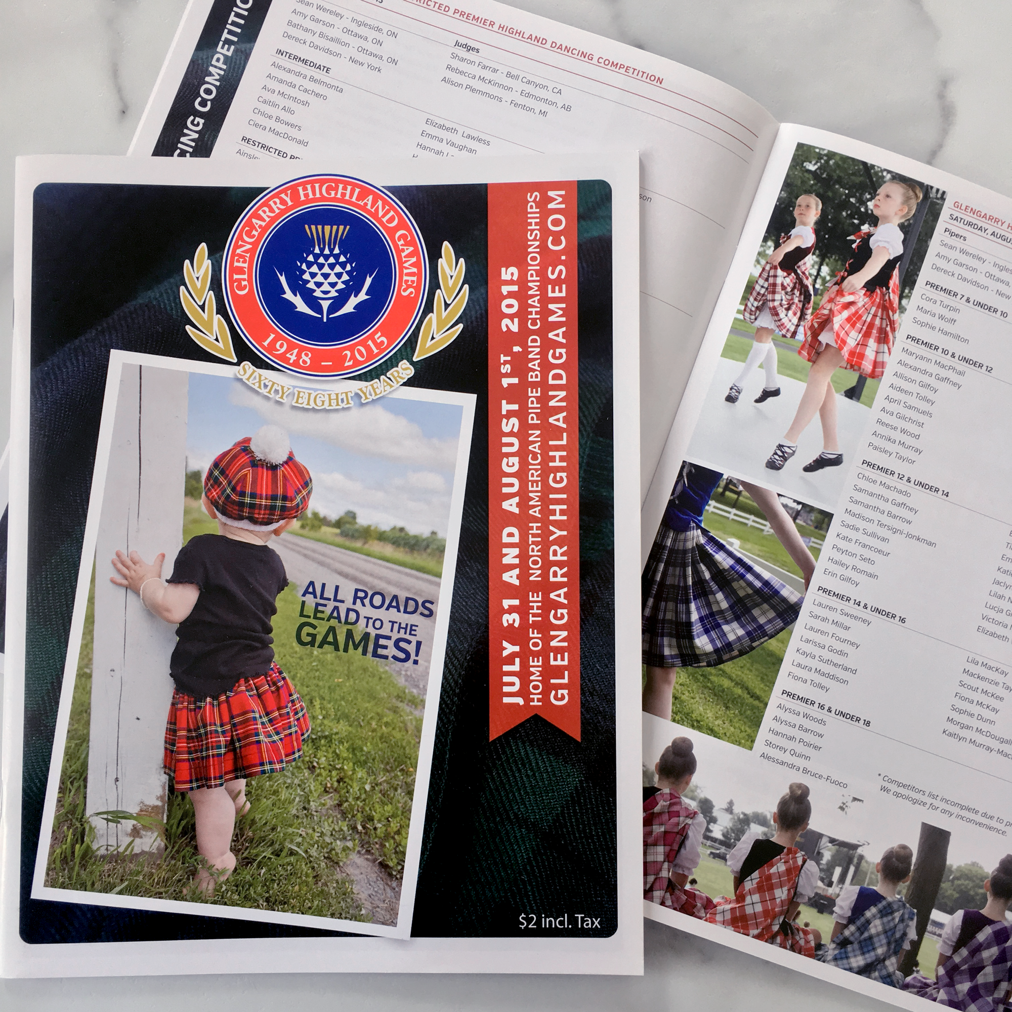 Full program (102 pages) / Glengarry Highland Games