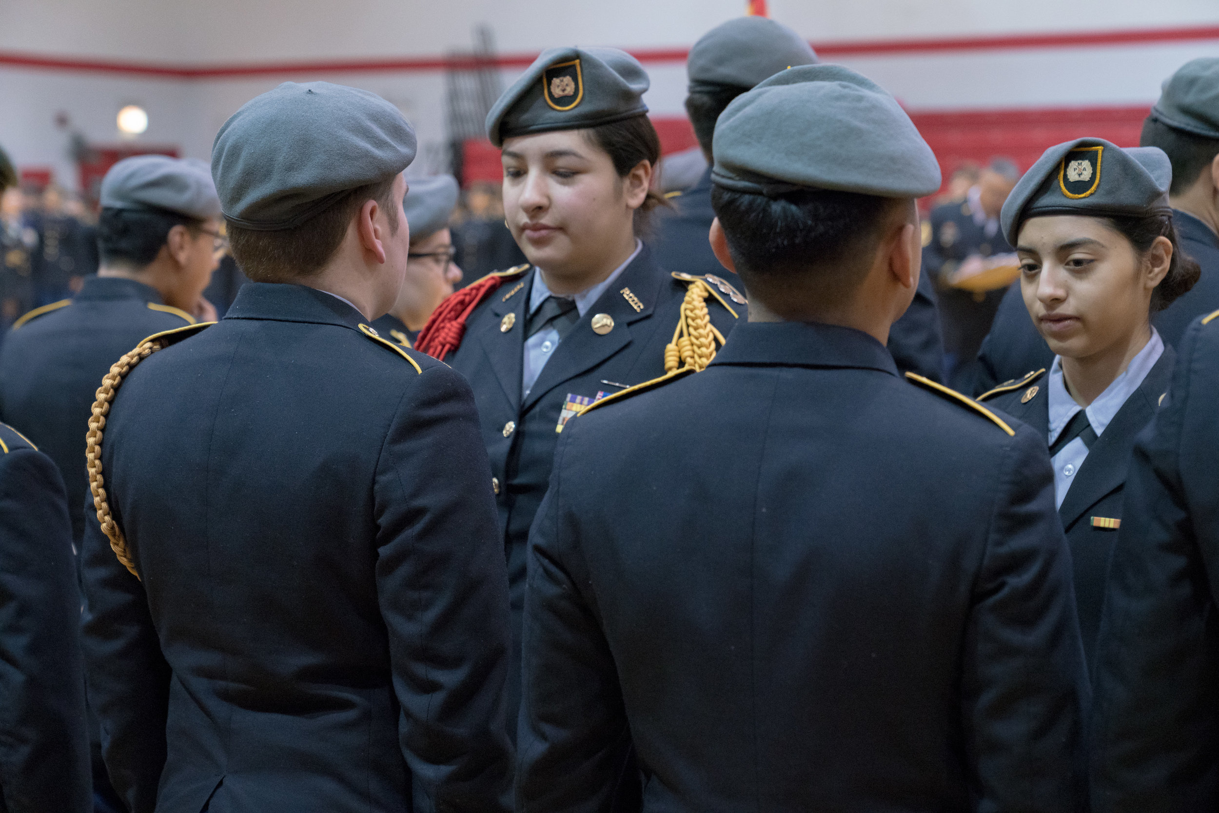 You never know who is in charge - 53% of cadets are young women